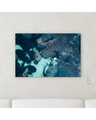 """East Urban Home 'Beautiful Aerial Shots 4' Photographic Print on Wrapped Canvas BF059474 Size: 14"""" H x 14"""" W x 2"""" D"""