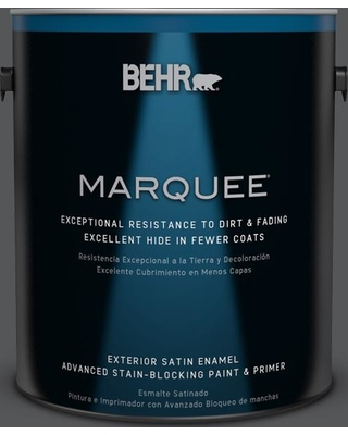 BEHR MARQUEE 1 gal. #PPU24-22 Shadow Mountain Satin Enamel Exterior Paint and Primer in One