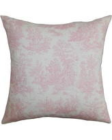 The Pillow Collection Lalibela Toile Bedding Sham TPLC3324 Size: King Color: Baby Pink