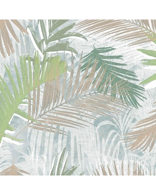 Graham Brown Graham Brown Jungle Glam Green White And Taupe Removable Wallpaper Sample Green White Taupe From Home Depot People