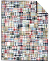 Madras Quilt, Multi, Twin
