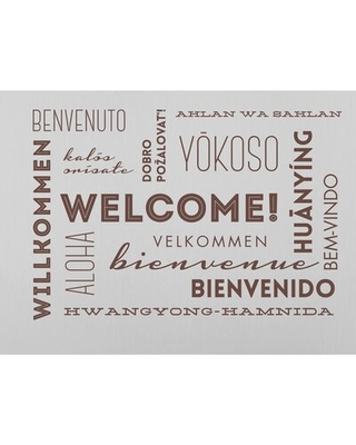 Welcome Words Wall Decal Wallums Wall Decor Color: Chocolate Brown