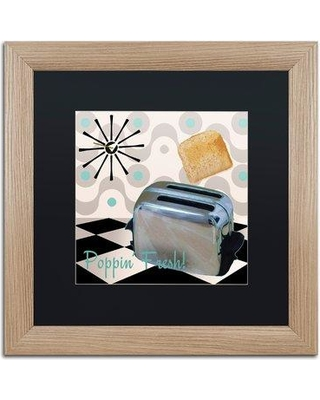 7d99431bd4f4 Trademark Art  Fifties Kitchen I  by Color Bakery Framed Graphic Art  ALI4313-T1