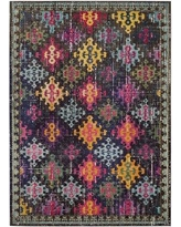 Bungalow Rose Ingrid Oriental Green/Pink Area Rug COHM0120 Rug Size: Rectangle 9' x 12'