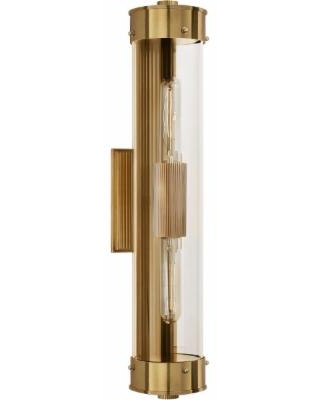 Visual Comfort and Co. Thomas O'Brien Marais 21 Inch 2 Light Bath Vanity Light - TOB 2318HAB-CG