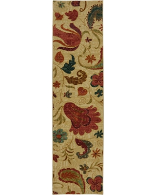 Mohawk Home Tropical Acres Multi 2 Ft X 8 Indoor Runner Rug