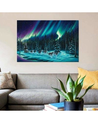 """East Urban Home 'The Perfect Ride' Graphic Art Print on Canvas EBHU7883 Size: 26"""" H x 40"""" W x 1.5"""" D"""