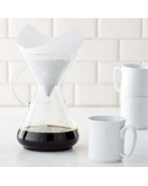 Chemex(R) 10-Cup Pour-Over Glass Handle Coffee Maker