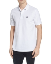Men's Psycho Bunny The Classic Pique Polo, Size 3(xs) - White