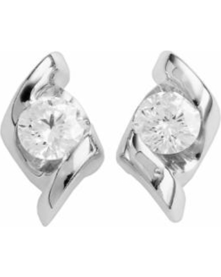 Sirena Collection 14k White Gold 1/4-ct. T.W. Diamond Stud Earrings, Women's