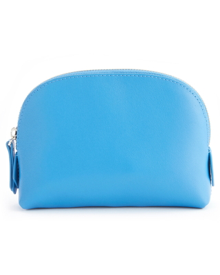 Royce Compact Cosmetics Bag, Size One Size - Light Blue
