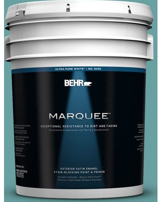 BEHR MARQUEE 5 gal. #T13-20 Folk Song Satin Enamel Exterior Paint and Primer in One