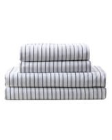 Mhf Home Kids All Star Striped Twin Sheet Set Bedding