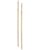 D'ro by Effy Diamond Long Linear Drop Earrings (1/3 ct. t.w.) in 14k Gold