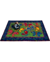Kid Carpet Learning on the Fly Kids Rug FE729 Rug Size: Rectangle 4' x 6'