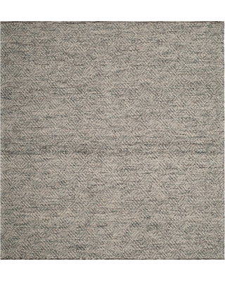 Camel/Gray Abstract Tufted Square Area Rug - (6'X6') - Safavieh