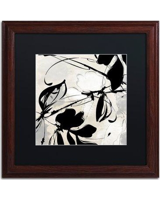 """Trademark Art 'Manifesto' by Color Bakery Framed Graphic Art ALI4237-W1 Mat Color: Black Size: 16"""" H x 16"""" W x 0.5"""" D"""