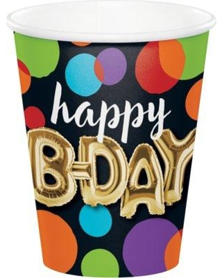 Amazing Sales On Creative Converting Balloon Birthday Paper Disposable Cup Dtc332492cup