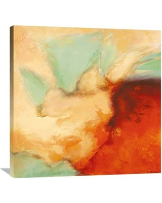 """Global Gallery 'Namasté I' by Jean-Luc Demos Painting Print on Wrapped Canvas GCS-456571- Size: 36"""" H x 36"""" W x 1.5"""" D"""
