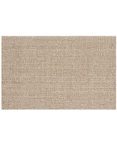 Chunky Wool & Boucle-Woven Jute Rug, 3x5', Natural