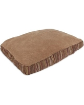 Aspen Pet Antimicrobial Gusseted Dog Pillow Bed 27480