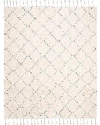 Union Rustic Parinaaz Hand-Knotted Wool/Cotton Beige Area Rug W000441767 Rug Size: Rectangle 8' x 10'