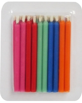 20 ct Birthday Candle Pack - Spritz, Multi-Colored