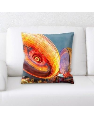 East Urban Home Sharp Colors Throw Pillow BF124155