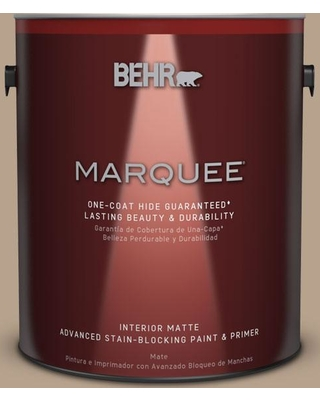 BEHR MARQUEE 1 gal. #PPU7-06 Chateau One-Coat Hide Matte Interior Paint and Primer in One