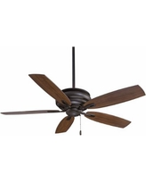 "54"" Minka Aire Timeless Oil-Rubbed Bronze Finish Ceiling Fan"