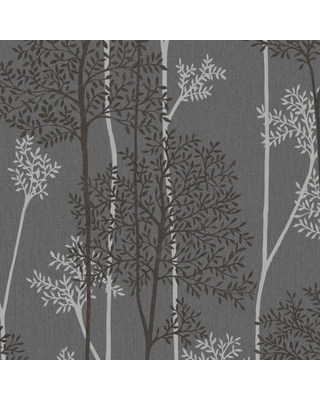 Graham & Brown Charcoal and Silver Eternal Wallpaper, Charcoal/Silver