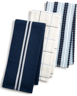 Martha Stewart Collection Martha Stewart Collection 3-Pc. Terry Cloth  Kitchen Towels, Created for Macy\'s from Macys | Martha Stewart