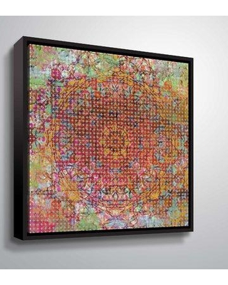 """Bungalow Rose 'Moroccan Pattern I' Graphic Art Print BGRS2884 Format: Black Framed Size: 24"""" H x 24"""" W x 2"""" D"""