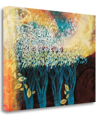 """Tangletown Fine Art 'My Grandmothers Orchard' Graphic Art Print on Wrapped Canvas CAWVP201-2318c Size: 28"""" H x 36"""" W"""