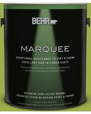 BEHR MARQUEE 1 gal. #PPU10-05 Intoxication Semi-Gloss Enamel Exterior Paint and Primer in One