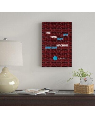 """East Urban Home 'The Time Machine By Robert Wallman' By Creative Action Network Graphic Art Print on Wrapped Canvas FVNF4579 Size: 18"""" H x 12"""" W x 0.75"""" D"""