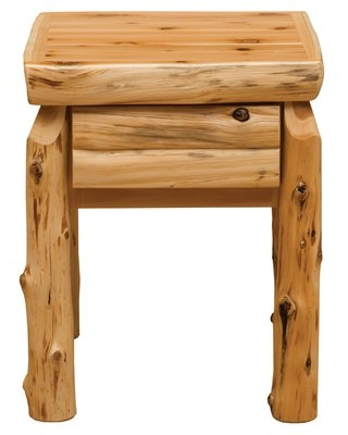 1 - Drawer Nightstand in Natural Fireside Lodge