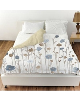 Oliver Gal Beautiful Growth Duvet Cover 22674.DUVET__MF Size: Queen