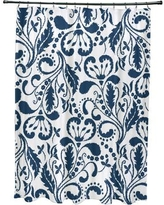 Alcott Hill Rushford Shower Curtain ALTL1505 Color: Blue