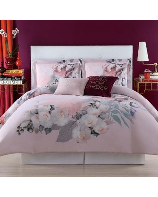 Christian Siriano NY Dreamy Floral King Duvet Set, Full/Queen