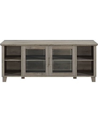"Columbus Middle Doors TV Stand for TVs up to 65"" Gray Wash - Saracina Home"
