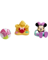 Disney Minnie Mouse Squirtee Toys 3pk, Multi-Colored