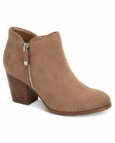 Style & Co Masrinaa Ankle Booties, Created for Macy's - Taupe