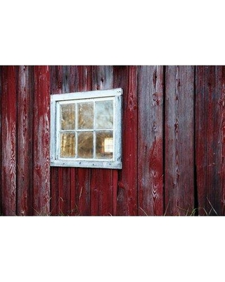 """Marmont Hill 'Old Window' by Sylvia Cook Painting Print on Wrapped Canvas SC-77-C- Size: 12"""" H x 18"""" W x 1.5"""" D"""