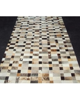 Modern Rugs Patchwork Disruption III Neutral Area Rug patchw5-109 Rug Size: Rectangle 4' x 9'