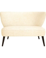George Oliver Cifuentes Armless Loveseat GOLV4857 Color: Zuma White