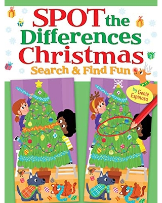 Spot the Differences Christmas: Search & Find Fun (Dover Children's Activity Books)