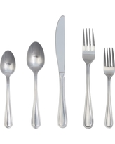 Eldon Flatware Set 20-pc. Stainless Steel - Threshold, Silver
