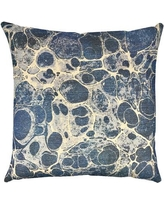 TheWatsonShop Marbled Shibori Throw Pillow DFV_MARBLEDTB