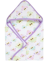 Miracle Baby Boys and Girls Muslin Hooded Towel
